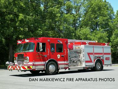 ALLEN TOWNSHIP FIRE CO. ENGINE 4512 2007 SPARTAN/KME PUMPER