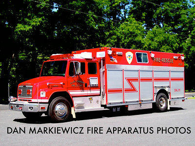 ALLEN TOWNSHIP FIRE CO. RESCUE 4541 1999 FREIGHTLINER/CENTRAL STATES HEAVY RESCUE
