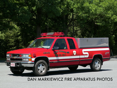 ALLEN TOWNSHIP FIRE CO. UNIT 4543 1997 CHEVY P/U