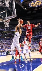 NCAA BASKETBALL: MAR 15 SEC Tournament – Kentucky v Arkansas