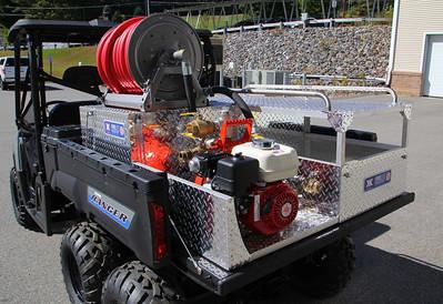 new All Terrain Vehicle for Ashburnham Fire Department