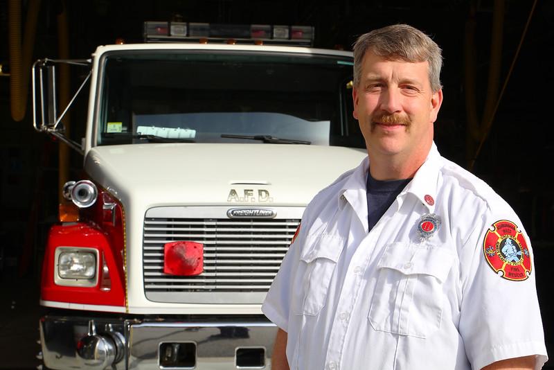 Ashburnham Fire Captain Paul Rekos is the new Fire Chief. SENTINEL & ENTERPRISE/JOHN LOVE