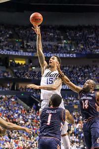 NCAA BASKETBALL: MAR 14 SEC Tournament – Kentucky v Auburn