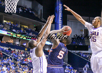 NCAA BASKETBALL: MAR 13 SEC Tournament – Auburn v LSU