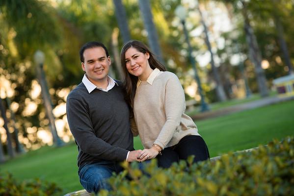 Beth & Chris Engagement @ Balboa Park
