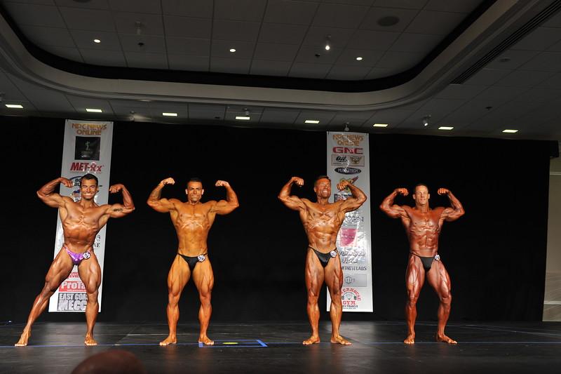 Men's Bodybuilding Open Welterweight Prejudging (1)