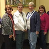 Rocking Region 4: l-r, Nancy Johnson, Dinah Halopka-Ryson, Penny Budzien, Pam Nye, Deana Fuchs and Lisa Youngquist.
