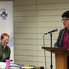 ELCA Presiding Bishop Elizabeth Eaton speaks to Conference of Presidents