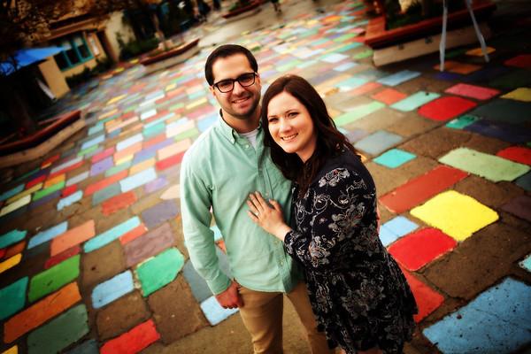 Carly & Tyler Engagement @ Balboa Park