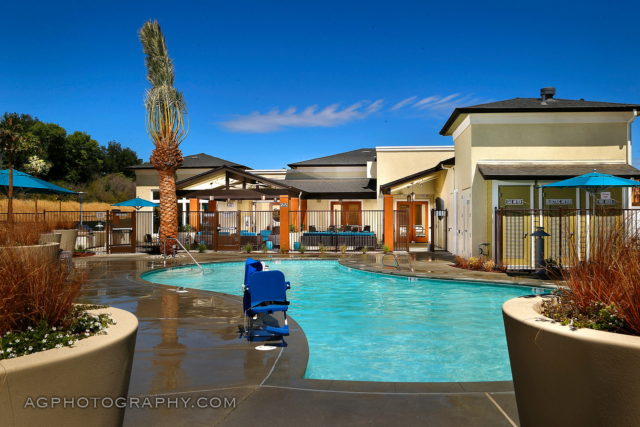 Coyote Creek Clubhouse by William Lyon Homes, Milpitas, CA, 6/28/14.