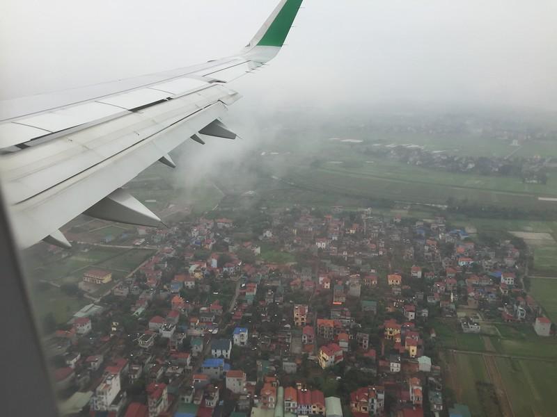 Landing at Hanoi