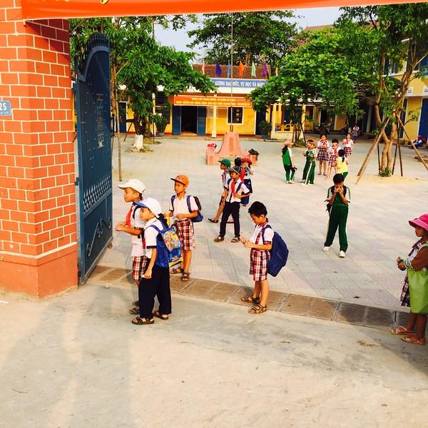 School near Phu Bai