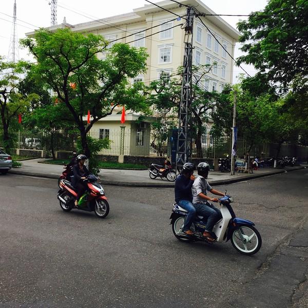 Hue street scene