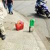 "Street corner ""gas station""-Hue"