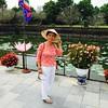 A Vietnamese lady from North Carolina visiting the Citadel