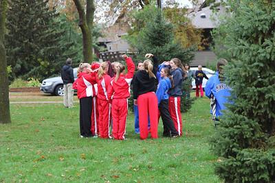 Varsity Girls: 10-15-2013
