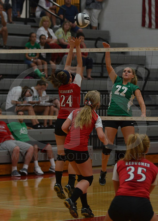 Fairland at Rock Hill Volleyball 8-28-2013