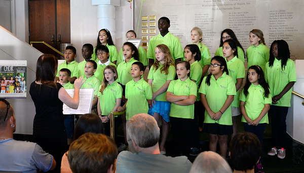 Harmony Choir at Community Day at the Phil 5 15 16