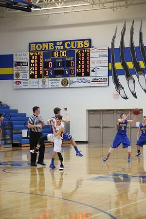 Kimball Cubs Boys Basketball Play Off games 2016