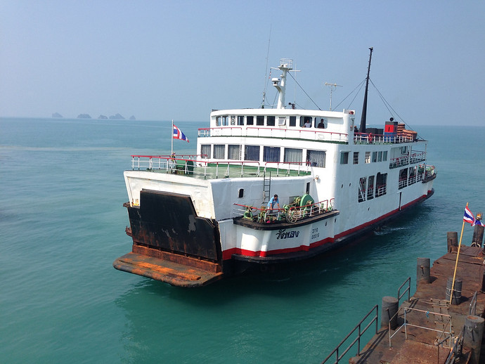 Raja Ferry Connecting Donsak and Koh Samui