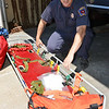 The Leominster Fire Department technical rescue team has recently been doing training as part of a regional program. Lieutenant Ryan Young shows off the equipment on Friday afternoon. SENTINEL & ENTERPRISE / Ashley Green