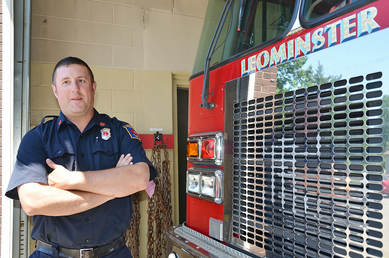 The Leominster Fire Department technical rescue team has recently been doing training as part of a regional program. Lieutenant Jason LeBlanc shows off the equipment on Friday afternoon. SENTINEL & ENTERPRISE / Ashley Green