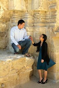Merian & Leo @ Mission San Juan Capistrano