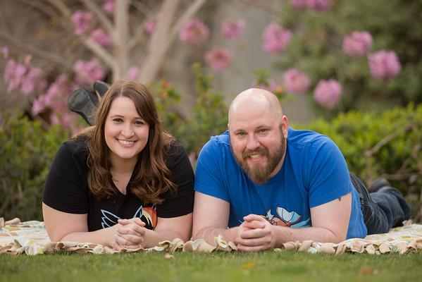 Michelle & Kyle @ Balboa Park March 2016