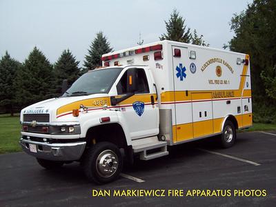 KLECKNERSVILLE RANGERS FIRE CO. AMBULANCE 4883 2003 CHEVY/P&L AMBULANCE