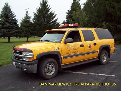KLECKNERSVILLE RANGERS FIRE CO. CAR 4851 2003 CHEVY PERSONNEL CARRIER