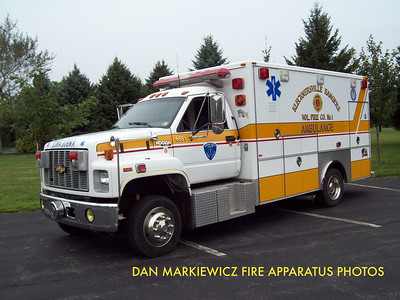 KLECKNERSVILLE RANGERS FIRE CO. AMBULANCE 4881 1993 CHEVY/SWAB AMBULANCE