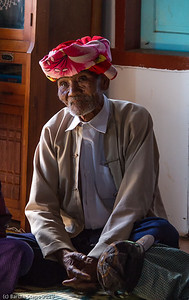 The elder in the village near Kalaw