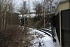 PKP Px 48 1916, leaving Jindrichuv Hradec, Sat 31 January 2015 2.  Running on dual gauge track.