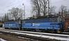 Czech Railways (CD) 240 014 (leading) & 240 044, Jindrichuv Hradec, Sat 31 January 2015 - 1026