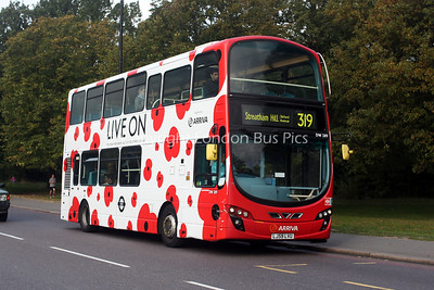 DW289, LJ59LVU, Arriva London South