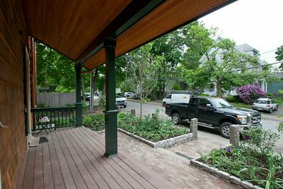 Outside landscaping