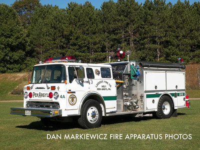 LOOKOUT FIRE CO. ENGINE 3212 1987 FORD/GRUMMAN PUMPER