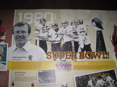 The best years of the Redskin's history!!! The Joe Gibbs era and the Diesel!
