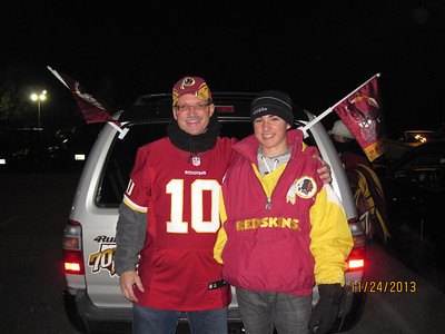Redskin Game vs San Francisco 49'ers