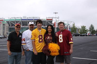 Redskins vs Browns at FedEx Statium - Oct 2, 2016