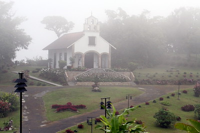 Chapel in the clouds