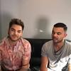 "💫😛💫 Guy Sebastian & Adam Lambert show their love for @tomhanks and ""Forrest Gump"" #xfactorau"