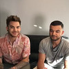Guy Sebastian & Adam Lambert Live Q&A Oct 23 a couple of hours before their first live show together