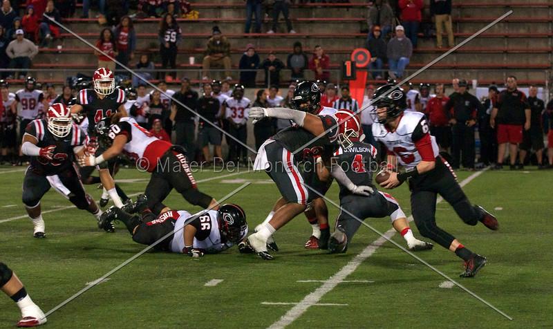 Varsity vs. Centennial playoff 2014