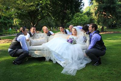WEDDING PARTY FUN!
