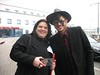 Dark Princess ‏@VampGirlPrague<br /> <br /> OMG OMG OMG my pic w @adamlambert arrived :-))))))) im swooning RN :-)<br /> <br /> to je hotel vedle terminalu na letisti :-) poprali jsme jim tam stastnou cestu :-) vetsinou queen fans ale byli na Adama hodni<br /> it is a hotel next to the airport terminal:-) We gave them a happy journey there:-) Most of the queen fans but they were worthy of Adam