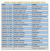 QAL TOUR DATES 2015 by Virg1877