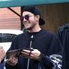 "Italy ♥ Adam Lambert<br /> @ItalyLovesAdam<br /> Nuove foto del Papa....Adam scusate, con i fans oggi a San Paolo! 😂💕 Alte foto <a href=""http://adamlambertbrasil.com.br/galeria/thumbnails.php?album=3083"">http://adamlambertbrasil.com.br/galeria/thumbnails.php?album=3083</a>  #PopeBert"