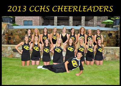 CCHS CHEER GROUP 1