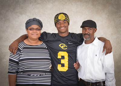 Senior night with parents
